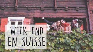 Week-end en SUISSE entre amies - Cacao sacré - Fondue suisse - Lac Léman