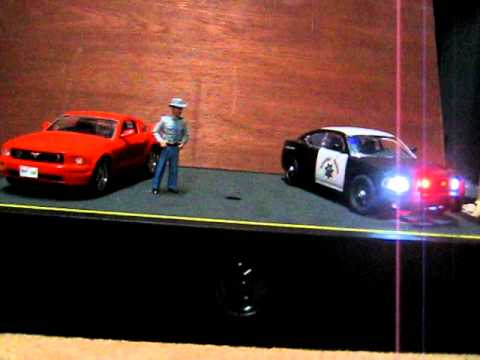Revell Mustang and Dodge Charger