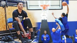 Trevon Duval Workout & Practice at IMG Academy (scene from