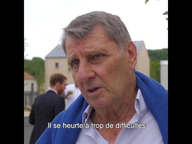 ALILA - Inauguration de OPUZ VERDE à Bonnières - Georges RAKOCEVIC - Pr du Conseil de Surveillance