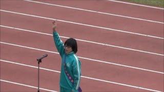 前橋市中学校駅伝2016 選手宣誓