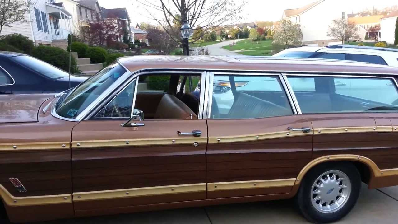 1967 ford country squire wagon youtube. Black Bedroom Furniture Sets. Home Design Ideas