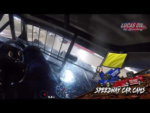 #27 Bob Barnett - Street Stock - 10-5-19 Lucas Oil Speedway - In-Car Camera