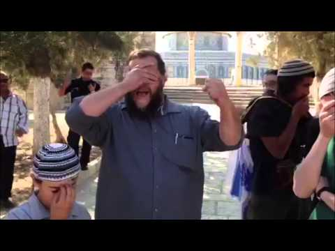 The Temple Mount: Prayer, Prostration, the Flag of Israel...and Arrest!