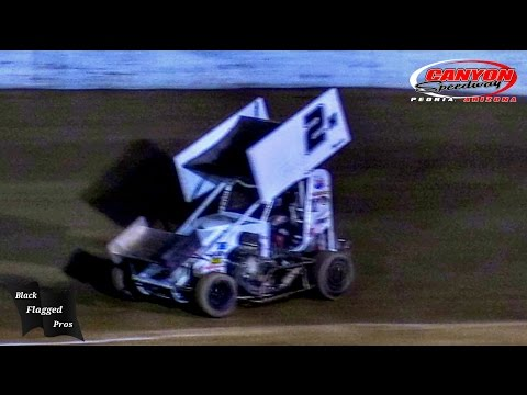 Mini Sprint Main At Canyon Speedway Park September 24th 2016