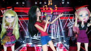Vida de Boneca 23 (stop motion Barbie - Monster high) - The Voice Dolls