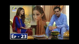 Mere Khudaya Episode 23 - 24th November 2018 - ARY Digital Drama