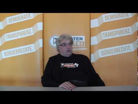 Interview mit Stuttgarter OB-Kandidat Harald Hermann am Rande der Landesaufstellungsversammlung
