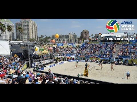 2016 ASICS WSOBV Long Beach Men's Final Lucena Dalhausser USA vs. Solberg & Goncalves BRA
