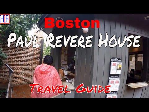 Boston | Paul Revere House | Tourist Attractions | Episode# 7