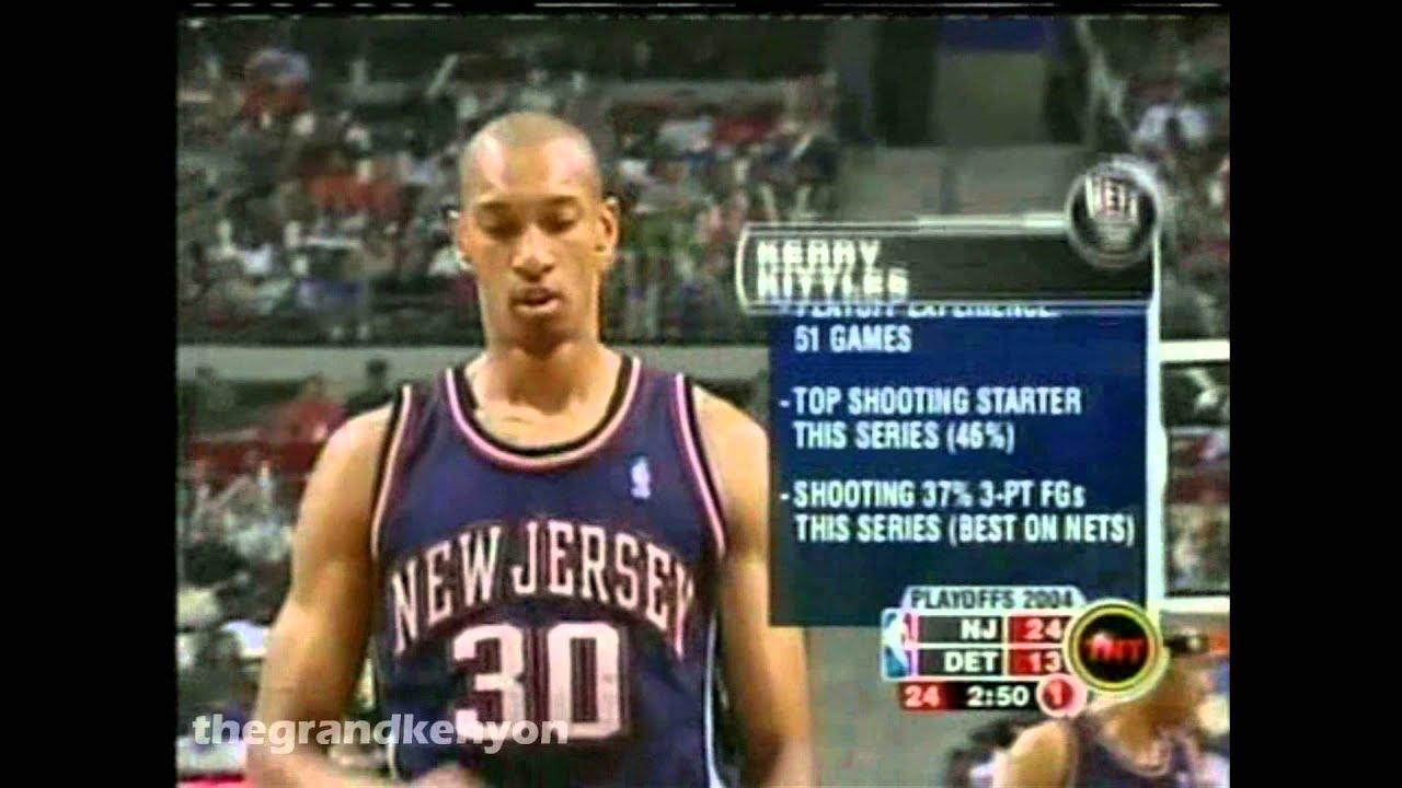 Kerry Kittles 20 points & 11 rebounds vs Detroit Pistons May 14