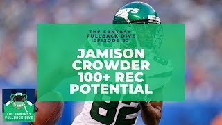 Jamison Crowder Will be a PPR Monster With New Look Jets | 2019 Fantasy Football