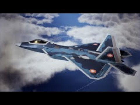 Ace Combat 7 Skies Unknown F 22a Tempest Plane Parts Full Gameplay Youtube