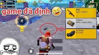 PUBG Mobile - Khi Ý Game Đã Định Với AKM Scope 6 :v | Bổ Mắt Hay Mù Mắt Đây =))