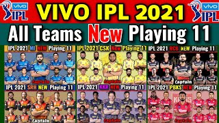 IPL 2021 All Teams Best Playing 11 | All Teams Playing 11 IPL 2021 | All Teams Best Match Playing 11