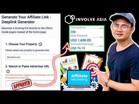 How to GENERATE LINK correctly on INVOLVE ASIA and WHY you should use MOBILE PHONE | Tutorial