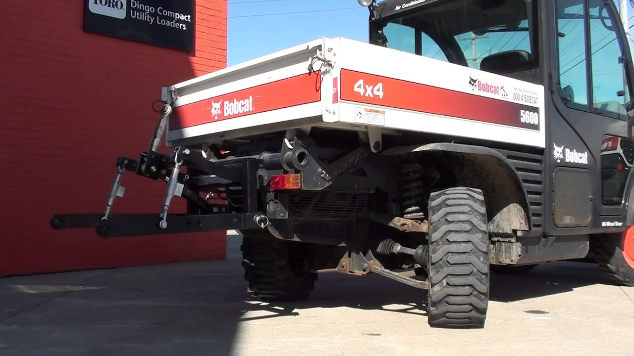 Toolcat 3 Point Hitch : Utv hitchworks bobcat toolcat equipped with our