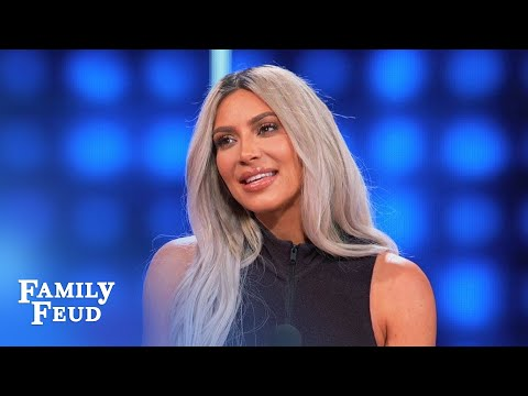 Here's why Kim & Kanye LOCK THE DOOR! | Celebrity Family Feud