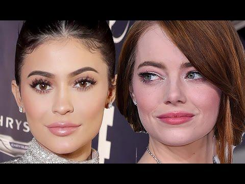 Kylie Jenner VS Emma Stone: Golden Globes 2017 Best Dressed
