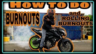 How to do burnout by RIDERBOY | ISTUNT|