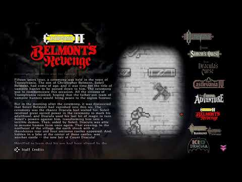 Stay At Home And Play More Games...Like Castlevania Anniversary Collection |