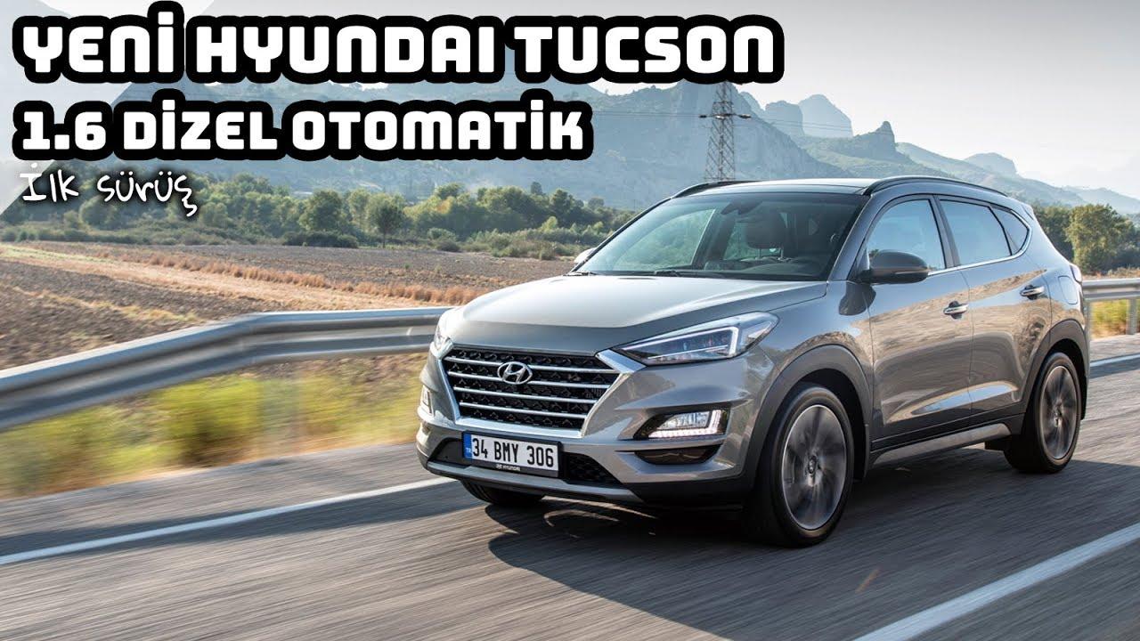 Yeni Hyundai Tucson 16 Dizel Otomatik Ilk Sürüş Youtube