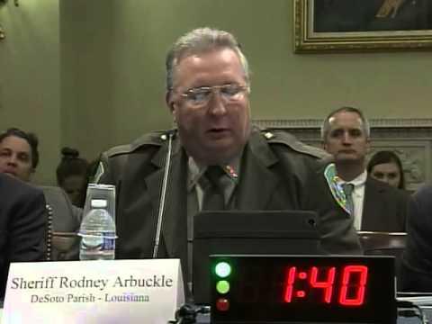 DeSoto Parish Sheriff Testifies About Energy Opportunities