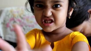 Anvi As Little Radha:) Happy Janmashtami!! :)