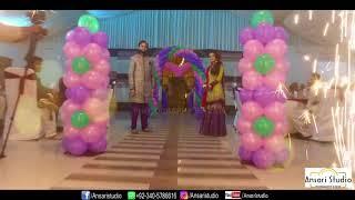 Mirpur Wedding (Mehndi highlights 2018) Attique Hussain And Aysha Hussain