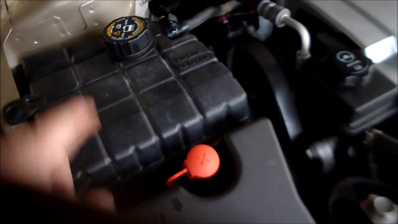cadillac dts battery location and how to jump start [ 1280 x 720 Pixel ]