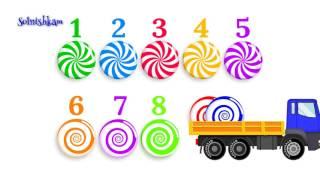 Сборник лучших развивающих видео для детей, обучающий цифрам, цветам и счету  Для самых маленьких!