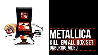 Metallica 'Kill 'Em All' Deluxe Box Set: Unboxing With Narration