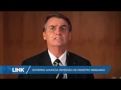 Bolsonaro confirma demissão de Gustavo Bebianno