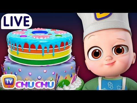 Pat a Cake + Many more Nursery Rhymes & Kids Songs - ChuChu TV LIVE