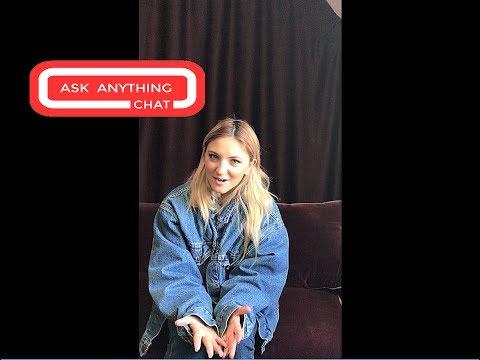 Julia Michaels Talks About Britney Spears & Her 10th Album.  Watch Part 1