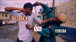 IGBO VS YORUBA LAGOS FIGHT! | Zfancy