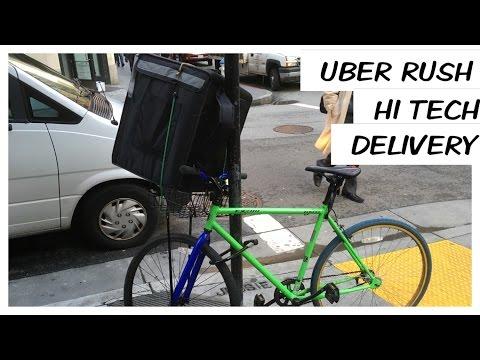 Uber Rush first day VLOG #013 UBER BIKERS?