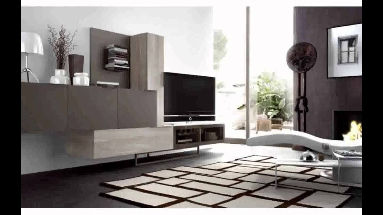 Muebles de salon modernos baratos youtube for Muebles modulos salon