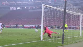 David Marshall Saves Mitrovic Penalty   Scotland Celebrate After Qualifying for UEFA EURO 2020