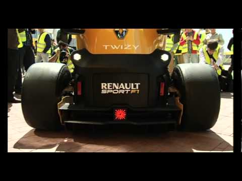 Twizy Renault Sport F1 Concept launch in Valladolid, Spain