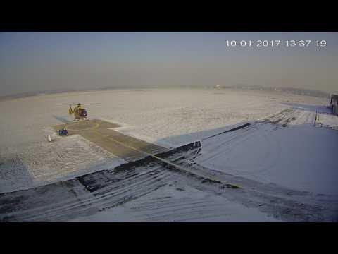 Powrót do bazy śmigłowca LPR po akcji w Stawiszynie