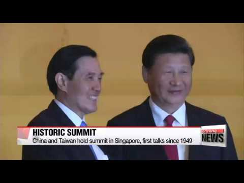 China and Taiwan hold summit in Singapore, first talks since 1949   중·대만 정상회담