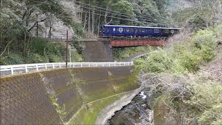 JR九州 特急かわせみやませみ@肥薩線告川橋りょう