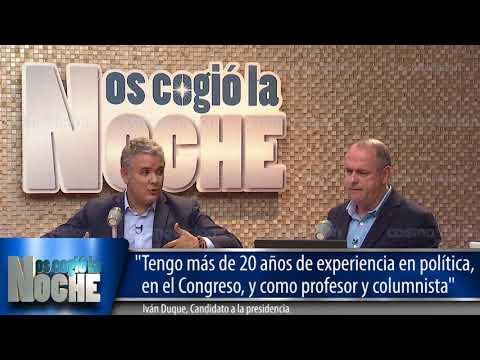 """""""Tengo más de 20 años de experiencia en política"""" - Iván Duque"""