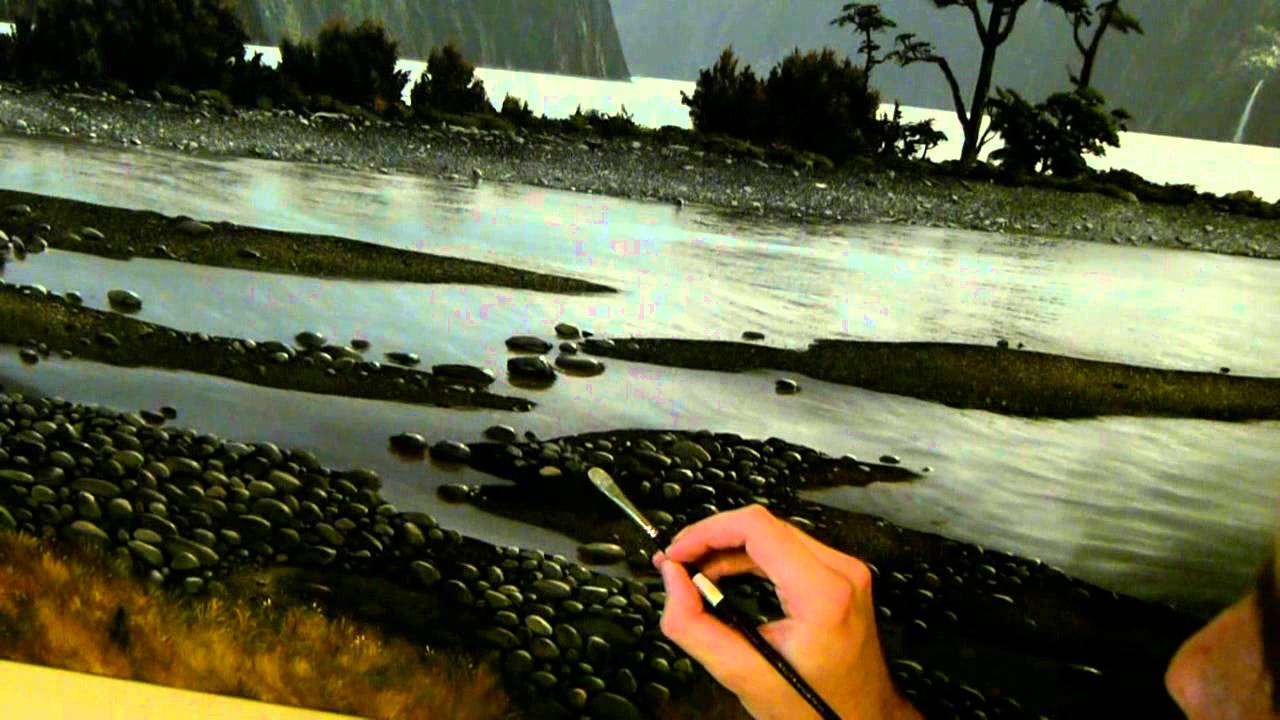 Nathanael Provis 5 How To Paint Stones Amp Rocks Painting