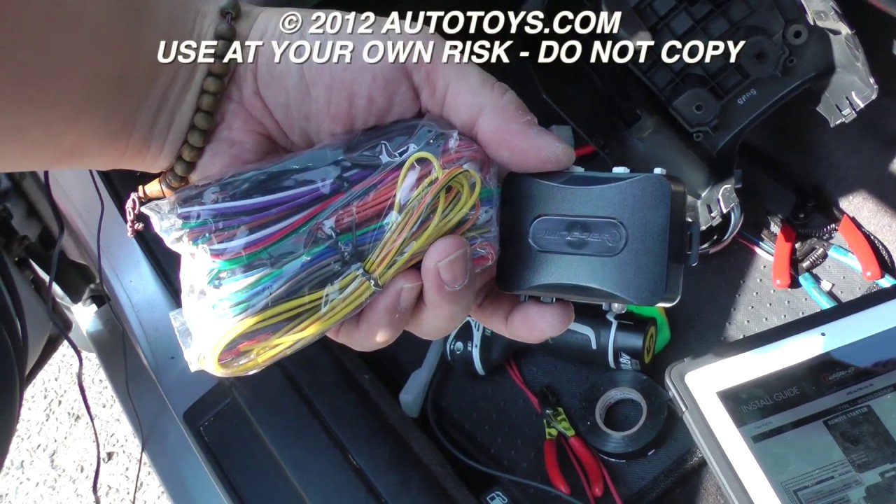 ACURA TL REMOTE START 2001 INSTALLATION UNCUT (USE AT YOUR OWN RISK ...