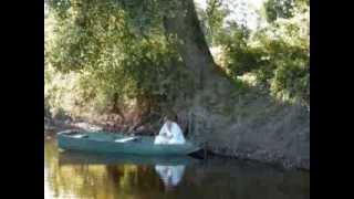 Un jour au Camping de la Chevrette à Digoin, au bord de la Loire.