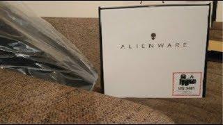 Unboxing Alienware M15