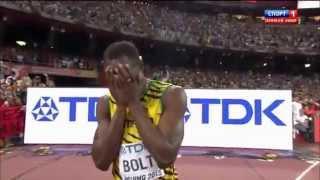 Усейн Болт - Чемпион Мира по бегу! Новый рекорд 2015