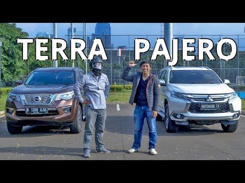 Nissan Terra VS Mitsubishi Pajero Sport